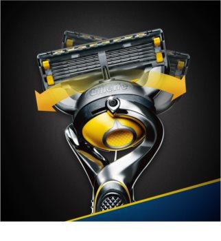 Gillette Fusion Proshield aparat za brijanje + zamjenske britvice 4 kom