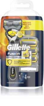Gillette Fusion Proshield máquina de depilar + refil de lâminas 4 pçs