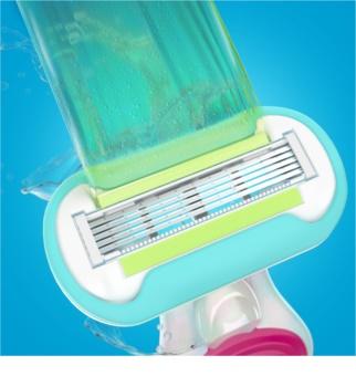 Gillette Venus Snap aparat de barbierit pentru calatorie rezerva lama 4 pc