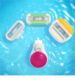 Gillette Venus Snap Travel Shaver + Spare Blades 4 pcs