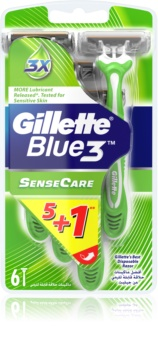 Gillette Blue 3 Sense Care One Time Razors