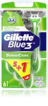 Gillette Blue 3 Sense Care одноразові бритви
