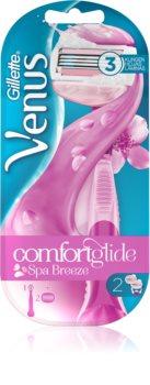 Gillette Venus Spa Breeze brijač + 2 zamjenske britvice