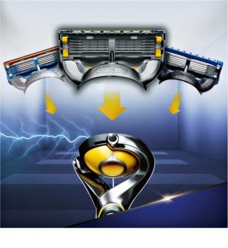 Gillette Fusion Proshield kozmetická sada IV.