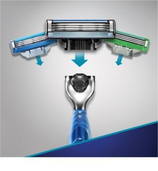 Gillette Mach 3 Start rasoir + lames de rechange 3 pcs