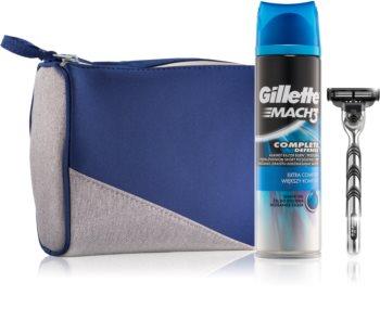 Gillette Mach 3 Complete Defense darčeková sada II. pre mužov