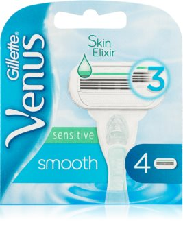 Gillette Venus Smooth Sensitive lame di ricambio 4 pz