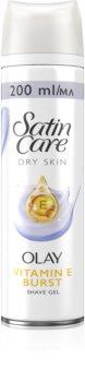 Gillette Satin Care Olay Violet Swirl gel per rasatura da donna