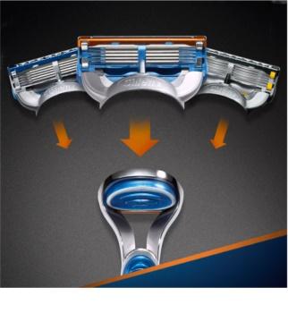 Gillette Fusion holicí strojek + náhradní břity 2 ks