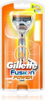 Gillette Fusion Power rasoir à piles