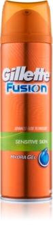 Gillette Fusion Hydra Gel gel de rasage pour peaux sensibles