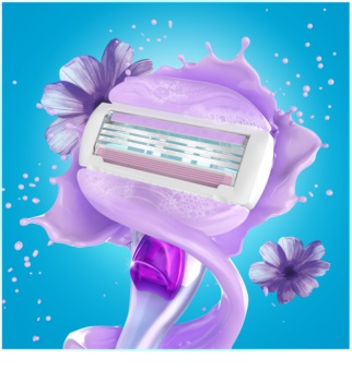 Gillette Venus Breeze máquina de barbear + refil de lâminas 2 pçs