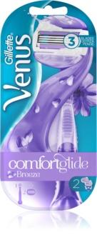 Gillette Venus Breeze holiaci strojček náhradné čepieľky 2 ks
