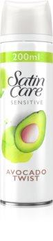 Gillette Satin Care Avocado Twist Shaving Gel For Women
