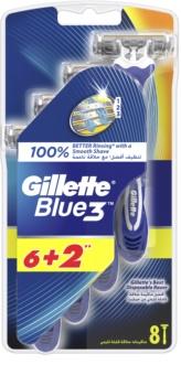 Gillette Blue 3 brivnik za enkratno uporabo