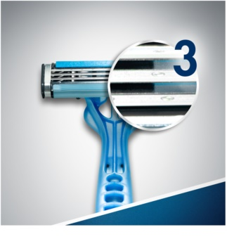 Gillette Blue 3 One Time Razors