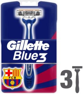 Gillette Blue 3 FCBarcelona rasoirs jetables