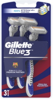 Gillette Blue 3 FCBarcelona One Time Razors
