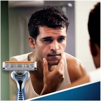 Gillette Blue 3 FCBarcelona One Time Razors