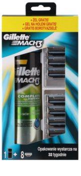 Gillette Mach 3 lote cosmético IV.