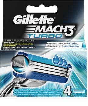 Gillette Mach 3 Turbo lames de rechange