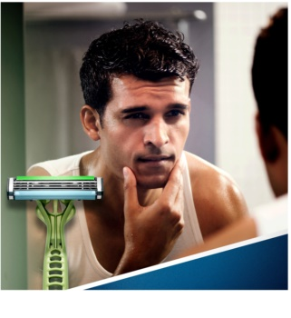 Gillette Blue 3 Sense Care jednorázové strojky