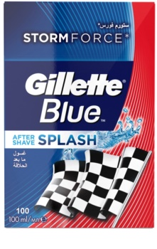 Gillette Blue Splash lotion après-rasage