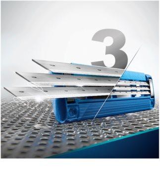 Gillette Mach 3 Turbo FCBarcelona Shaver + Spare Blades 4 pcs