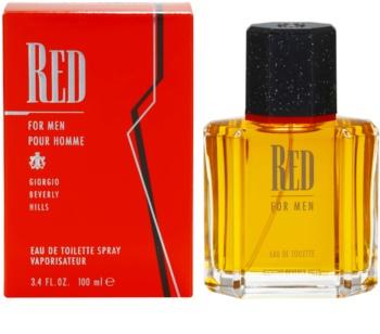 Giorgio Beverly Hills Red woda toaletowa dla mężczyzn 100 ml