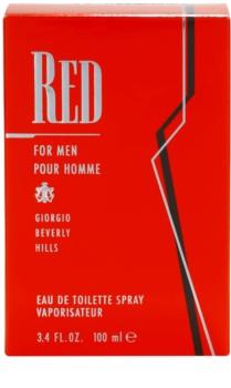 Giorgio Beverly Hills Red toaletná voda pre mužov 100 ml