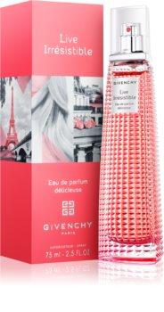 Givenchy Live Irrésistible Délicieuse eau de parfum per donna 75 ml