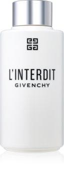 Givenchy L'Interdit losjon za telo za ženske 200 ml