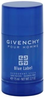 Givenchy Givenchy Pour Homme Blue Label dezodorant w sztyfcie dla mężczyzn 75 ml