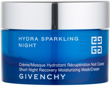 Givenchy Hydra Sparkling Short Night Recovery Moisturizing Mask and Cream