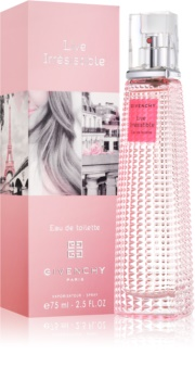 Givenchy Live Irresistible Eau de Toilette Eau de Toilette for Women 75 ml