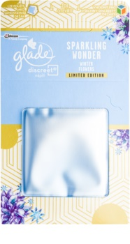 Glade Discreet Refill odświeżacz powietrza 8 g  Winter Flowers Limited Edition