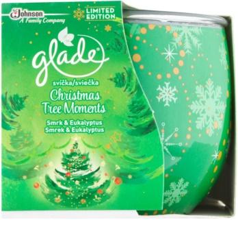 Glade Christmas Tree Moments ароматна свещ  120 гр.