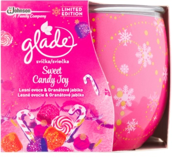 Glade Sweet Candy Joy Scented Candle 120 g