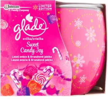 Glade Sweet Candy Joy vonná svíčka 120 g