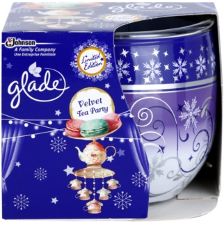 Glade Velvet Tea Party vonná sviečka 120 g