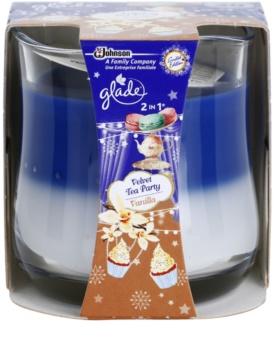 Glade Velvet Tea Party and Vanilla 2 in 1 lumanari parfumate  135 g