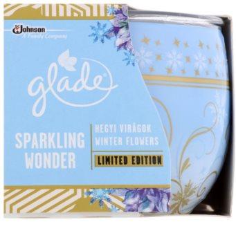 Glade Winter Flowers illatos gyertya  120 g