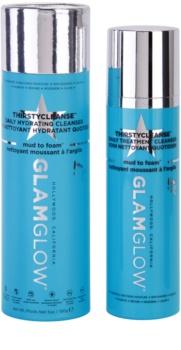 Glam Glow Thirsty Cleanse čistiaca a odličovacia pena s hydratačným účinkom