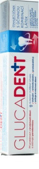 Glucadent + pasta dentífrica para encías sangrantes y piorrea