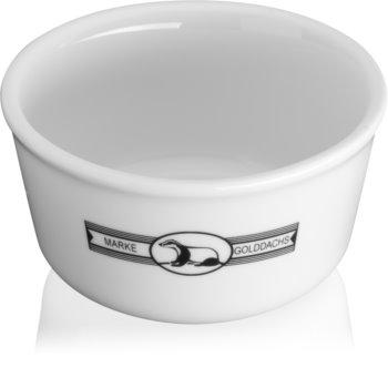 Golddachs Bowl posoda iz porcelana za pripravke za britje