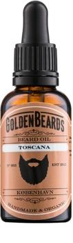 Golden Beards Toscana olje za brado