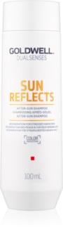 Goldwell Dualsenses Sun Reflects čistiaci a vyživujúci šampón pre vlasy namáhané slnkom