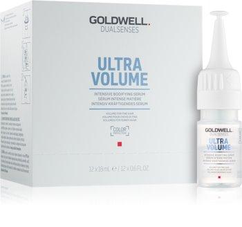 Goldwell Dualsenses Ultra Volume bezoplachové sérum pro jemné vlasy