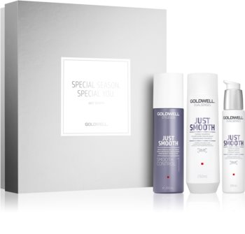 Goldwell Dualsenses Just Smooth Cosmetic Set I. (for Smoothing and Nourishing Dry and Unruly Hair)