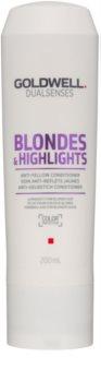 Goldwell Dualsenses Blondes & Highlights kondicionér pre blond vlasy neutralizujúci žlté tóny
